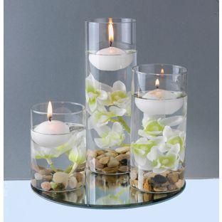 floating candles. Black Bedroom Furniture Sets. Home Design Ideas